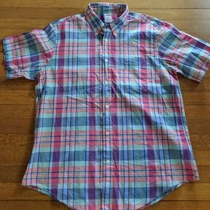 Men's Brooks Brother's Short Sleeved button-down